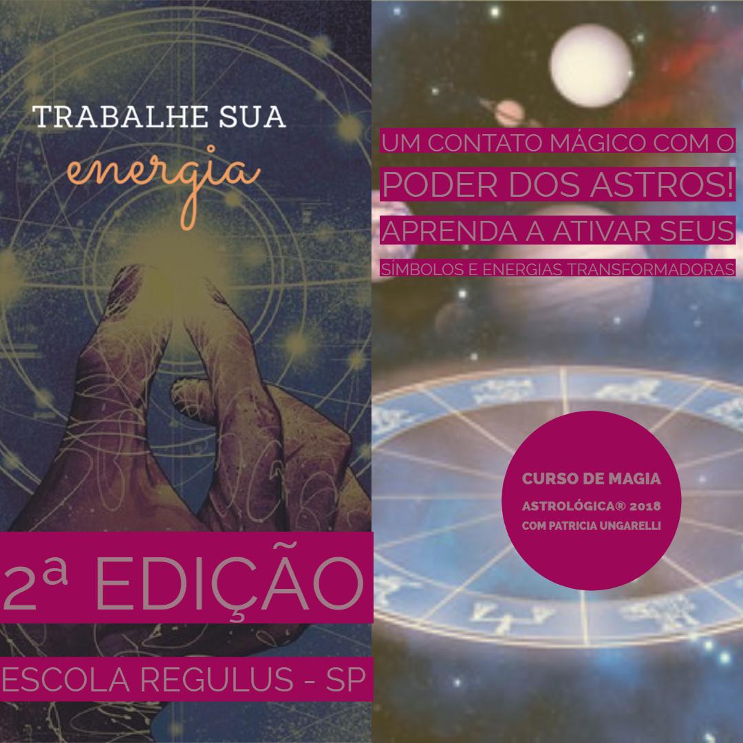CURSO DE MAGIA ASTROLÓGICA®- 2ª edição – Escola Regulus São Paulo